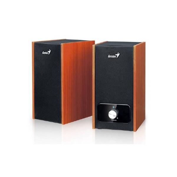 Boxe 2.0 Genius sp-hf805b  Rms: 10wx2  Black&cherr