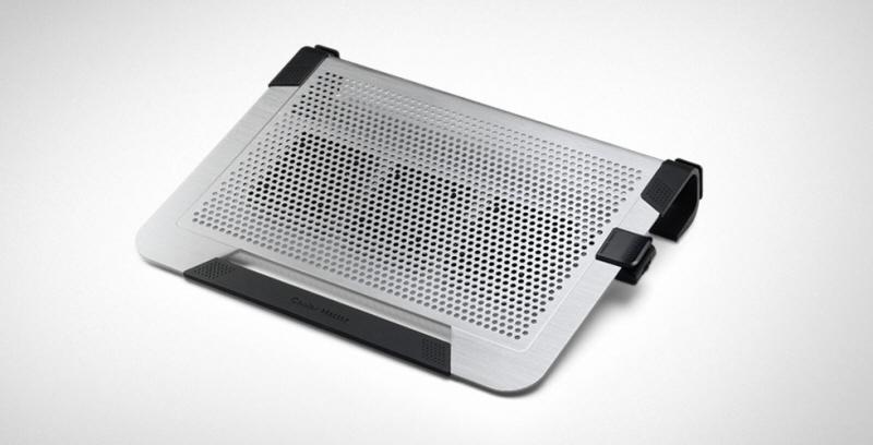 Stand Notebook Cooler Master 19. Notepal U3 Plus  3* Fan 80mm  1* Usb  Plastic & Aluminiu  Titanium r9-nbc-u3pt-gp