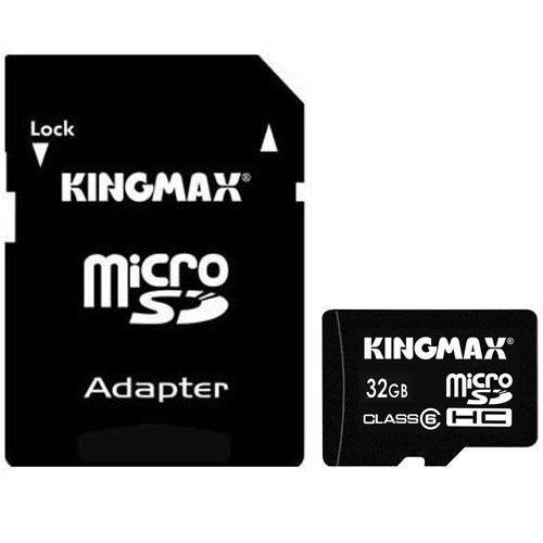Micro Sd Card Kingmax; Model: Km32gmcsdhc61a; Capacitate: 32 Gb; Clasa: 6; Culoare: Negru