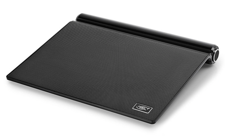 Stand Notebook Deepcool 17 1* Fan 180mm Blue Led  2* Usb  Plastic & Metal  Black  Boxe 2.0  Control Turatie m5