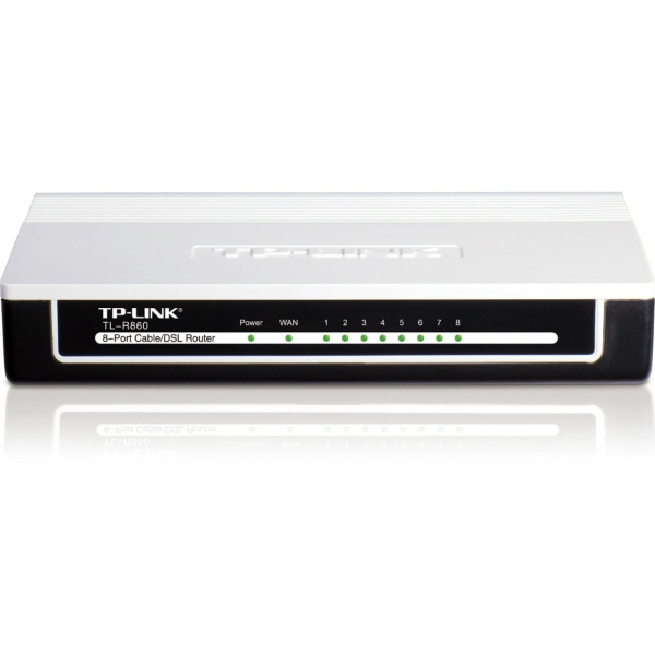 Router Tp-link; Model: Tl-r860; Management; Porturi: 8 X Rj-45 10/100