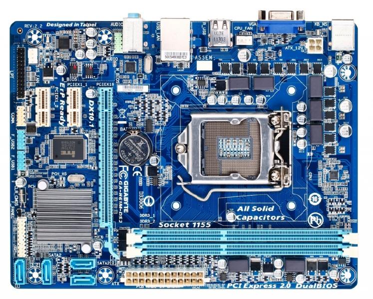 Placa De Baza Gigabyte Intel H61 ; Model : H61m-ds2