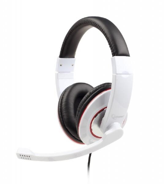 Casti Cu Microfon Dimensiune Mare  Gembird mhs-001-gw  White