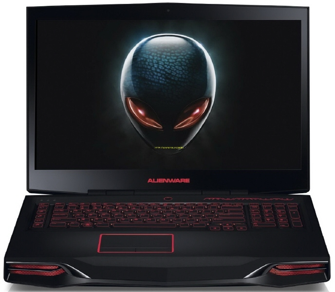 Laptop Dell Alienware M17x R4; Intel Core I7-3610q