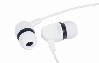 Casti Interne Plastic  White/black  Gembird mp3-ep04b
