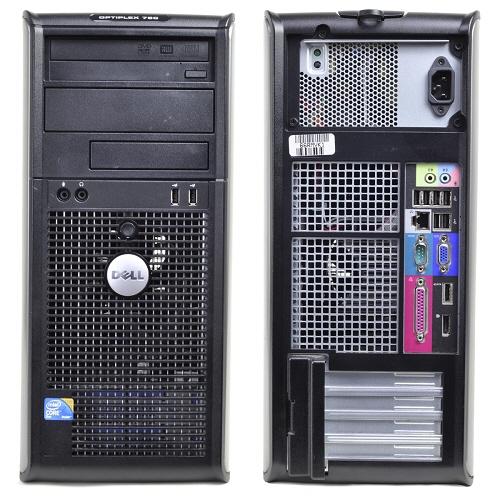 Dell Optiplex 760; Intel Core 2 Duo E7500 2.93 Ghz