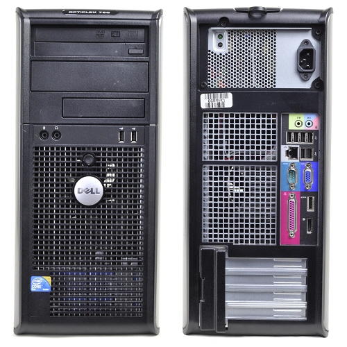 Dell Optiplex 755; Intel Celeron 430 1.8 Ghz; Tower