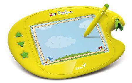 Tableta Grafica Genius kids Designer Ii  5 X 8  15 Jocuri  3~8 Ani