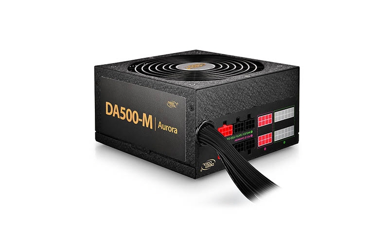 Sursa Deepcool  500w (real)  Fan 140mm Pwm  85% Ef