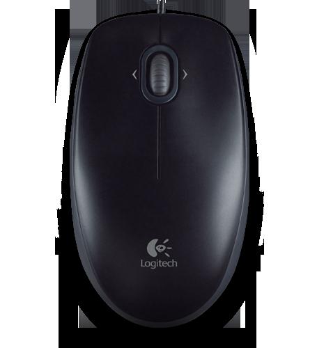 Mouse Logitech; Model: M100; Negru; Usb