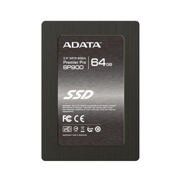 Ssd Adata Premier Pro Sp900 64gb Sata 3 Inc. Bracket 3.5 asp900s3-64gm-c
