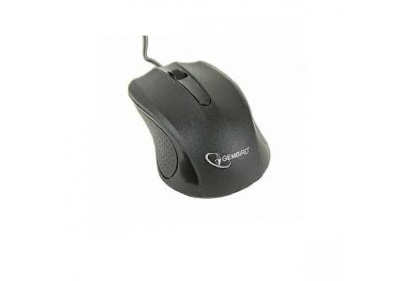 Mouse Gembird; Model: Mus-101; Negru; Usb