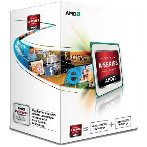 Cpu Amd Skt Fm2 A4 X2 6300 3.90/3.70ghz  1mb Cache  65w  Box ad6300okhlbox