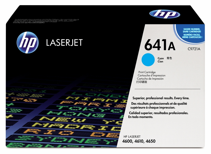 Cartus: Hp Color Laserjet 4600  4610  4650 Series With Chip Cyan