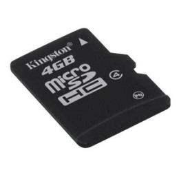 Micro Sd Card Kingstone; Model: Sdc4/4gb; Capacita