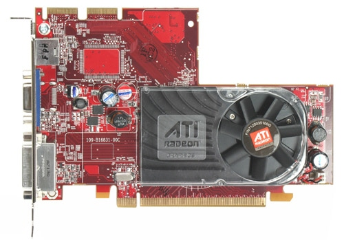 Placa Video: Ati Radeon 2400 Xt; 256 Mb; Pci-e 16x; 1 X Vga; 1 X Dvi; 1 X Svideo;
