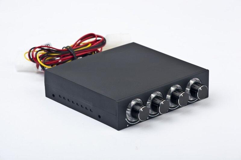Controler Turatie Pt. 4 Ventilatoare (4 Controlere Pe Front Panel)  Instalare Pe Bay De 3.5 Gembird fscp-2