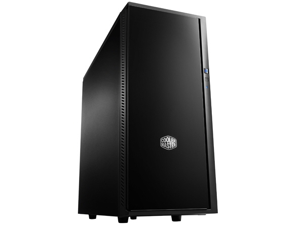 Carcasa Cooler Master Silencio 452  Mid-tower  Atx  2* 120mm Fan (inclus)  I/o Panel  Antifonare  Black sil-452-kkn1