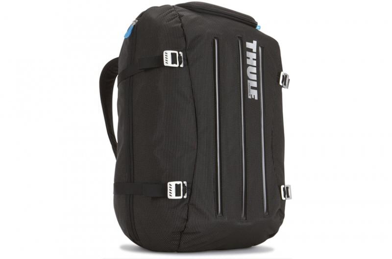 Thule Nylon Duffel-pack  With Safe-zone  Black/blu