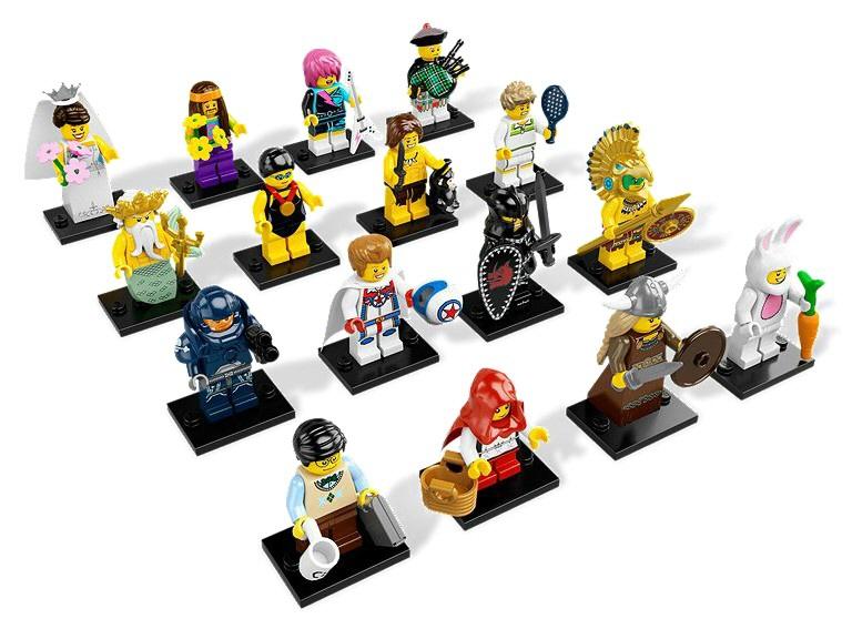 Minifigurine Lego Seria 7 (8831)