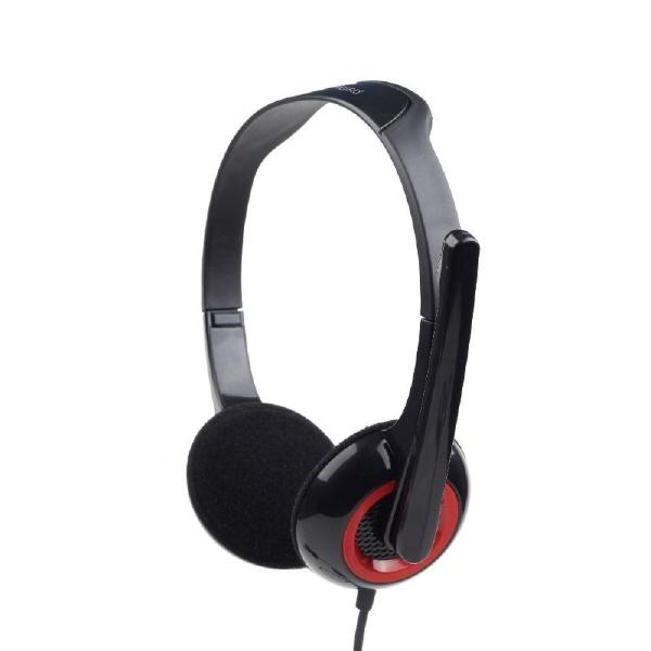 Casti Cu Microfon Dimensiune Medie  Black Gembird mhs-002