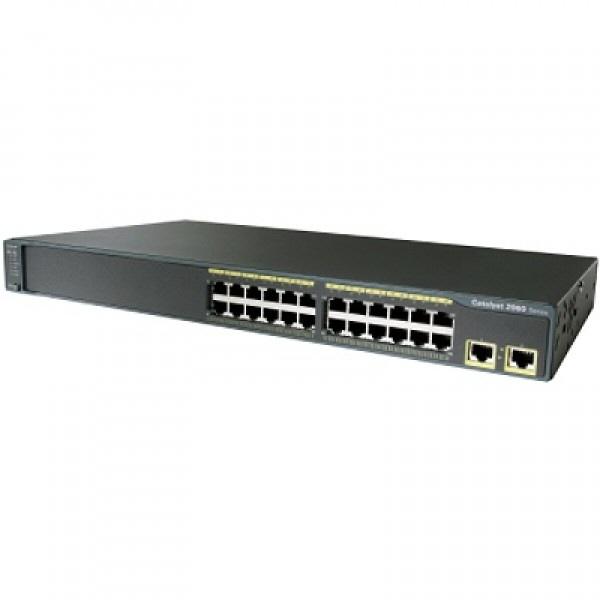 Router Cisco; Model: Catalyst 2960; Management; Porturi: 24 X Rj-45 10/100; 2 X Rj-45 10/100/1000