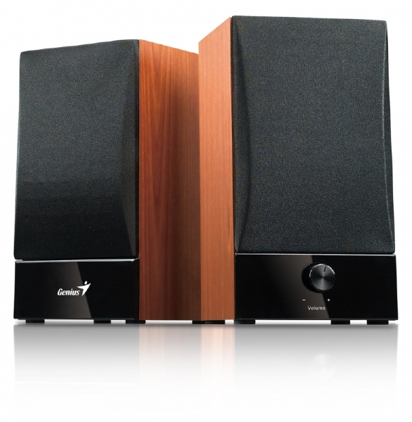 Boxe 2.0 Genius sp-hf800b  Rms: 10wx2  Black&cherr