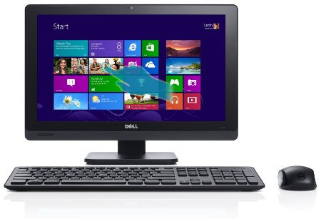 All In One Dell Inspiron 2020  Intel Core I3-3240t 2.9 Ghz  4gb Ddr3  1tb Hd  20 Hd Touchscreen  Intel Hd Graphics  Dvd+/-rw  802.11b/g/n  Cam+mic  Windows 8