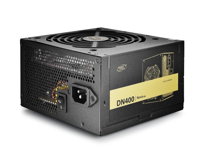 Sursa Deepcool  400w (real)  Fan 120mm Blue Led   80% Eficienta  1x Pci-e (6+2)  5x S-ata dn400