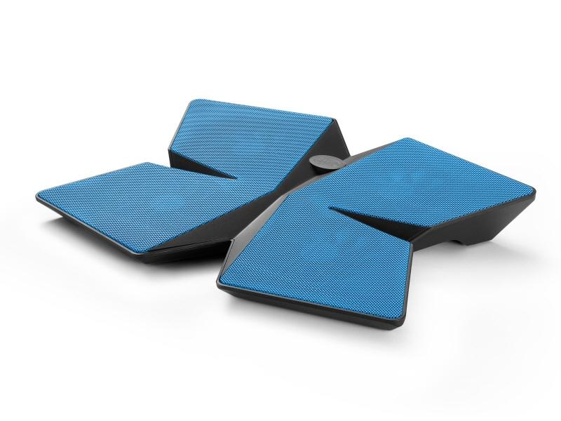 Stand Notebook Deepcool 15.6 4* Fan 100mm  2* Usb  Plastic & Metal  Black & Blue  4* Setari multi Core X4