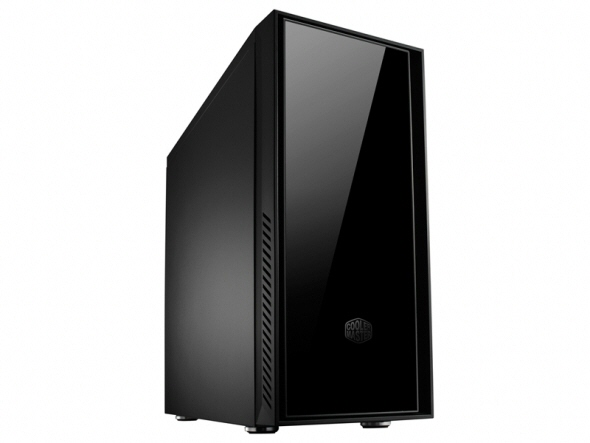 Carcasa Cooler Master Silencio 550  Mid-tower  Atx  2* 120mm Fan (inclus)  I/o Panel  Antifonare  Black rc-550-kkn1