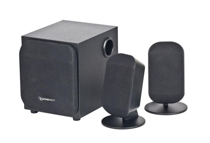 Boxe 2.1 Gembird wcs-731  Rms: 1wx2 + 2w  Black