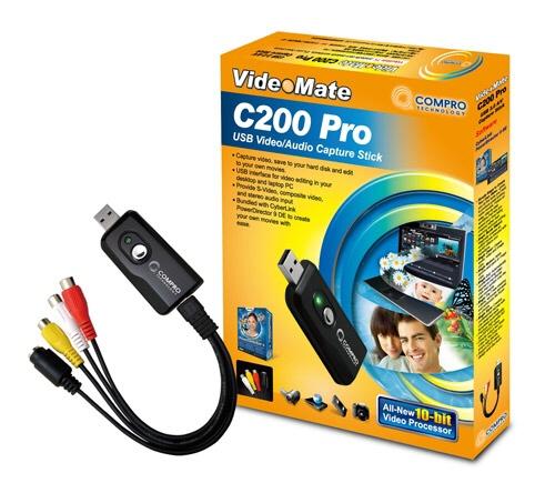 Capture Card Compro Usb c200 Pro