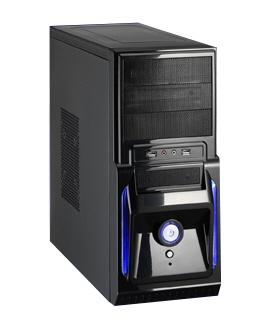 Carcasa Jnc Cu Sursa 450w  Front Usb2.0+audio  (black)  rja-c332i