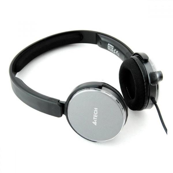 Casca Cu Microfon A4tech; Model: T-500-2; Gri;