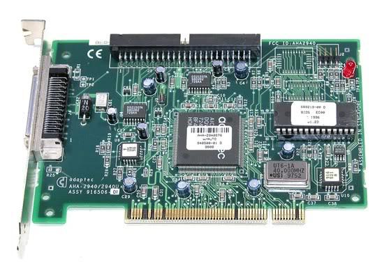 Controler Scsi Adaptec Aha-2940s76; Pci; 2940  2940u  Assy 916506