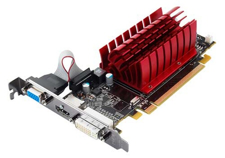 Placa Video Asus 1024 Mb; Gddr3; 64 Bit; Pci-e 16x