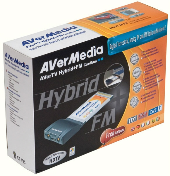Tuner Tv Avermedia Model: Avertv Hybrid (telecoman