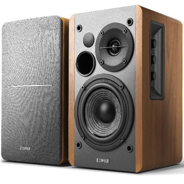 Boxe 2.0  Rms: 42w (21w X 2)  Volum  Bass  Treble