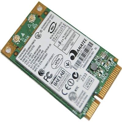 PLACA DE RETEA: BROADCOM BCM94312MCG; WIRELESS 54 Mbps; uPCI