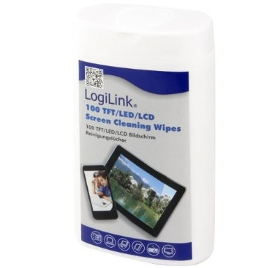 Set Curatare Tft/lcd Screen Cleaning Wipes Logilink rp0010 100pcs/box