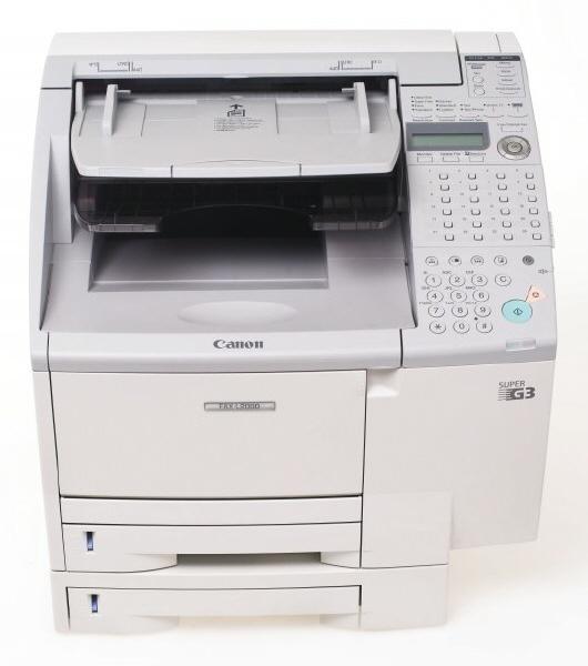 Fax Laser Canon Model: L2000; Format: A4; Retea; Sh Produs Defect   Se Comercializeaza Pentru Piese !
