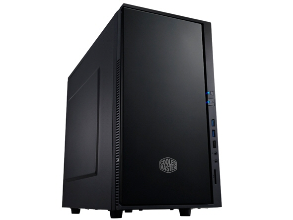 Carcasa Cooler Master Silencio 352  Mini-tower  Matx  2* 120mm Fan (inclus)  I/o Panel  Antifonare  Black sil-352m-kkn1