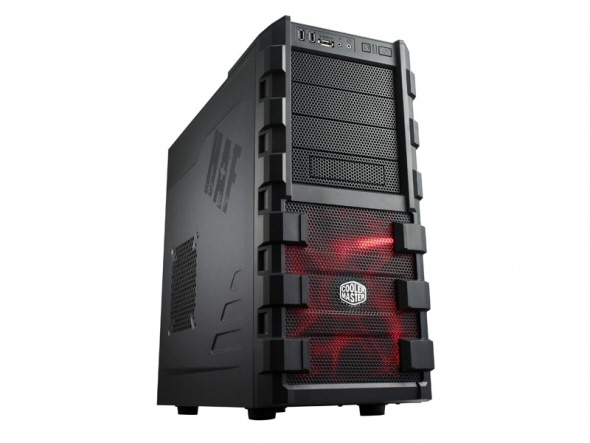 Carcasa Cooler Master Haf 912 Plus  Mid-tower  Atx  1* 200mm & 1* 120mm Fan (inclus)  I/o Panel  Black rc-912p-kkn1