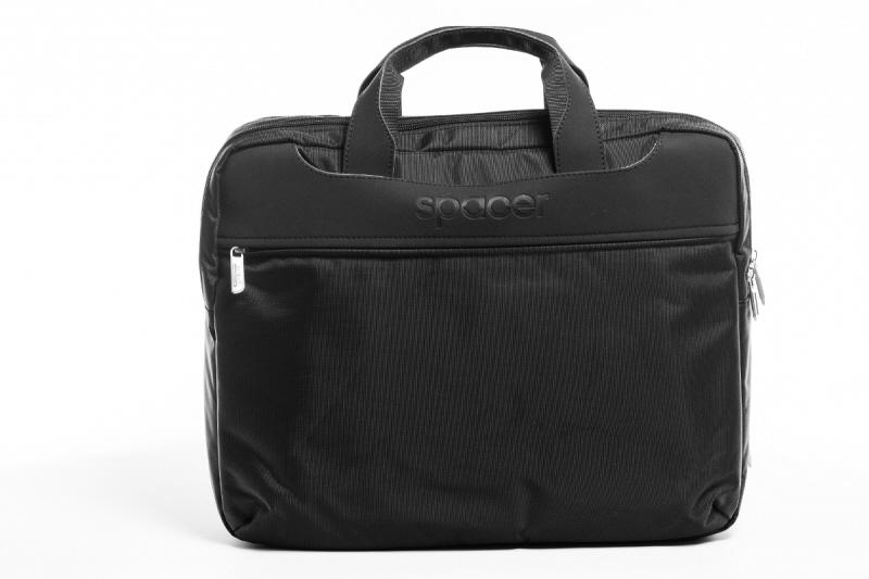 Geanta Notebook. 15.6 Nylon/piele Spacer Bag-a-boo spm7940 Ean: 5949046600018