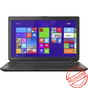 Laptop Toshiba Satellite C55-B5300B; Intel Celeron n2840 2.16GHZ; 4096 MB RAM; 500 GB HDD; Intel HD Graphics 3000; DVD-RW; Windows 8.1, factory refurbished