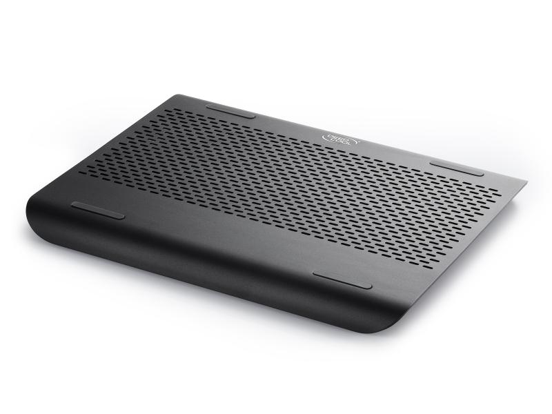Stand Notebook Deepcool 15.6 -. 1* Fan 180mm  2* Usb  Plastic & Aluminiu  Black n360 Fs Black