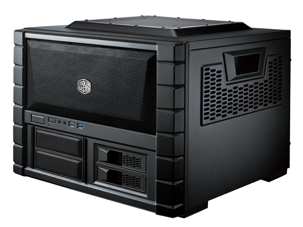 Carcasa Cooler Master Haf Xb Evo  Box-tower  Atx  2* 120mm Fan (inclus)  I/o Panel  Manere  Black rc-902xb-kkn2