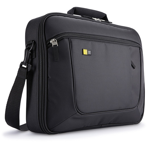 Geanta Laptop 15.6 Case Logic  Slim  Buzunar Interior 10.1  Buzunar Frontal  Poliester  Black anc316