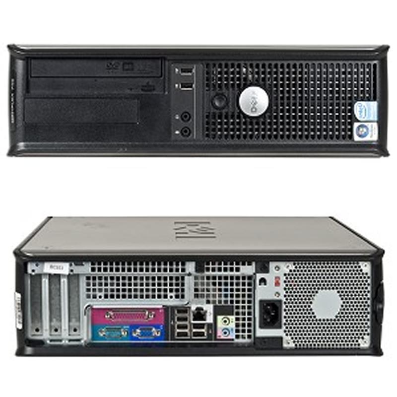 Dell, OPTIPLEX 360, Intel Core 2 Duo E7400, 2.80 GHz, video: Intel GMA 3100; DESKTOP